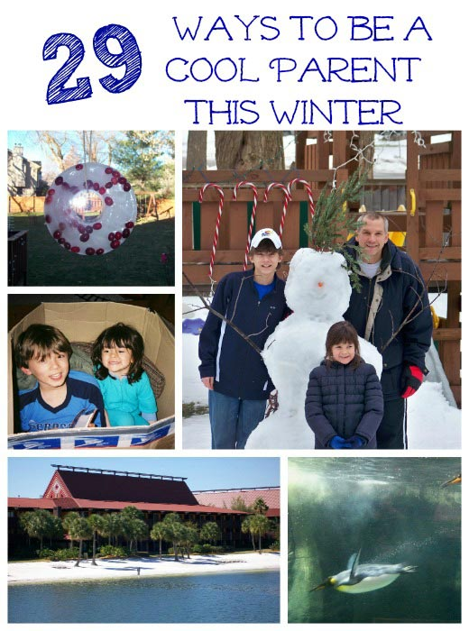 How to be a Fun Parent this Winter