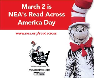 The Cat in the Hat March reading events and activities