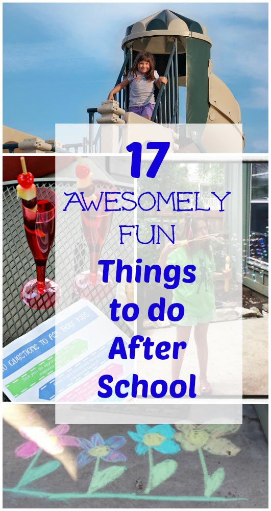 17 Fun Things to do After School with free printable 20 Questions game!
