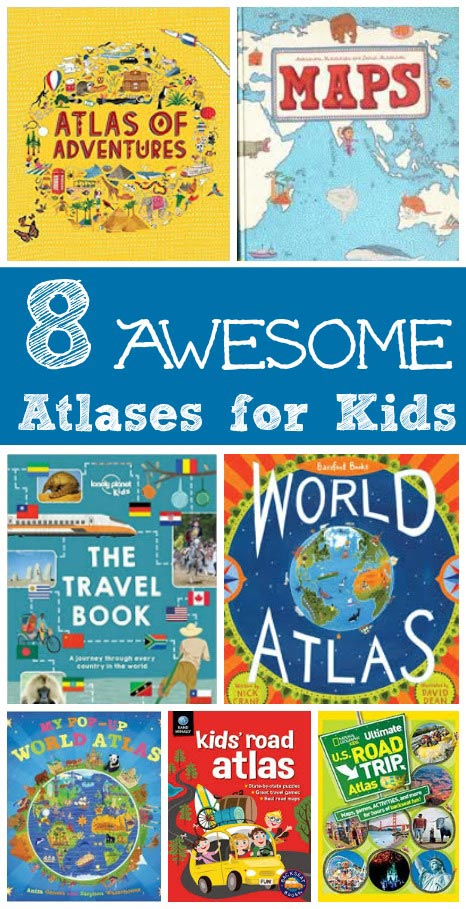Great geography for kids -- learn about the world with these fun map books!