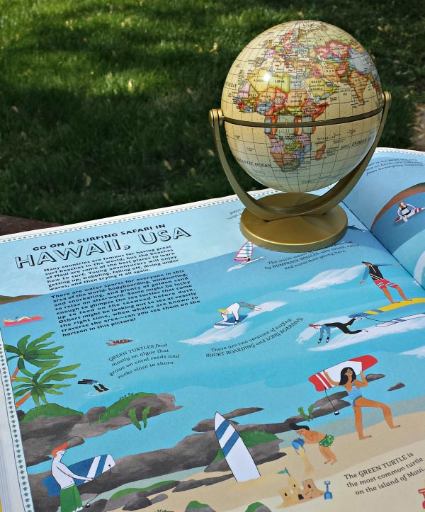 Fun geography activities for kids using maps, globes and atlases