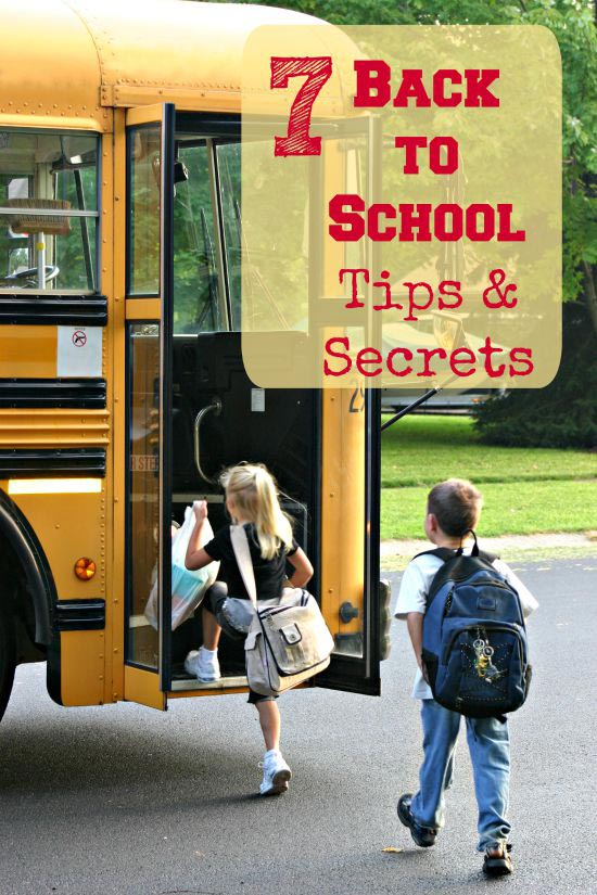 tips for making back to school easier