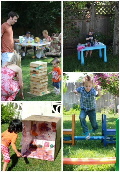 Fun things to do in your backyard - games and activities for kids