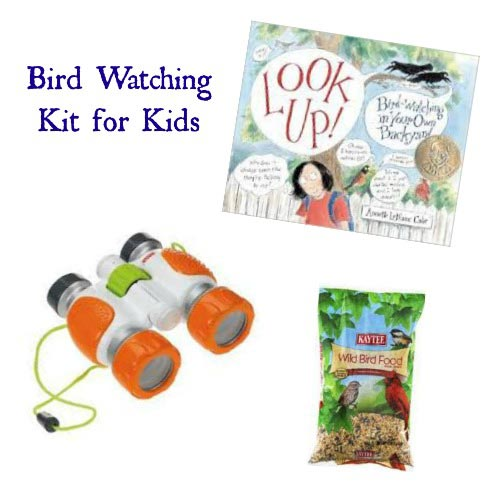 Birdwatching kit for kids