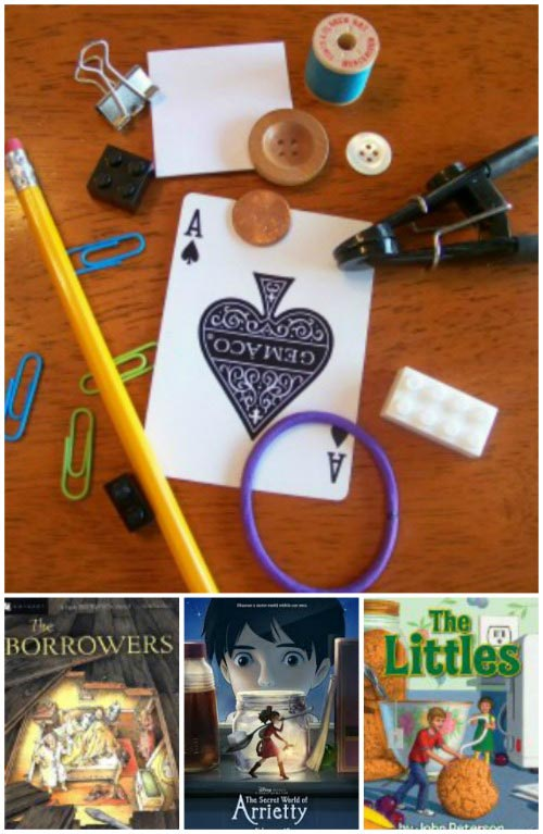 borrowers book activity for kids