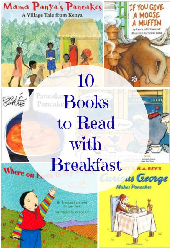 Best books to read at the breakfast table