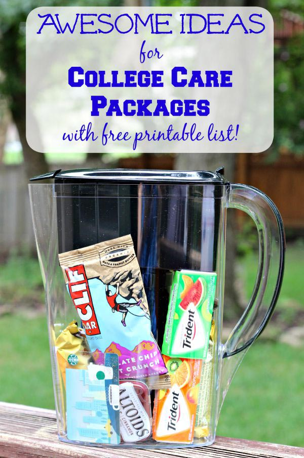 Care package ideas - what to include and how to mail them!