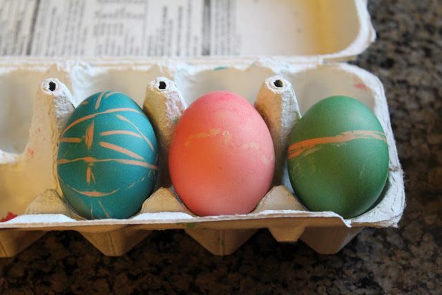 can you color brown eggs for Easter
