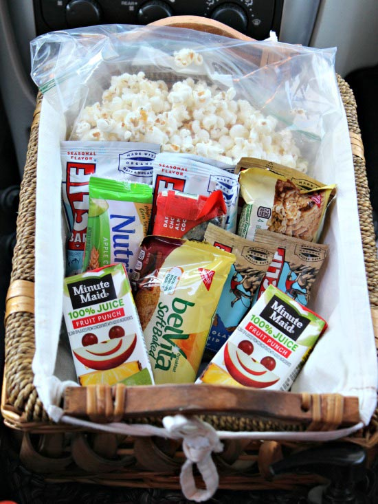 Great snack ideas & tips for your next car trip!