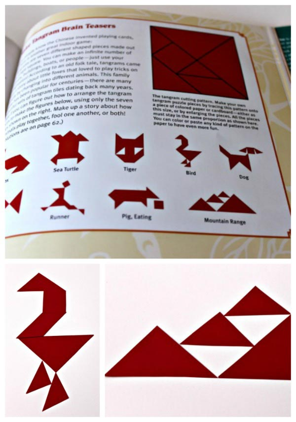 Tangram puzzles for kids