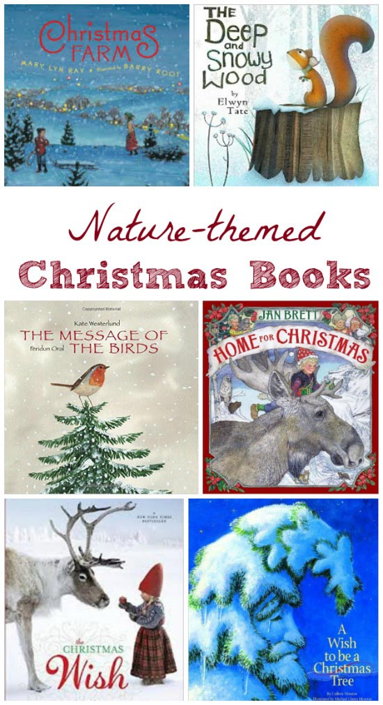 Kids Christmas books with nature themes