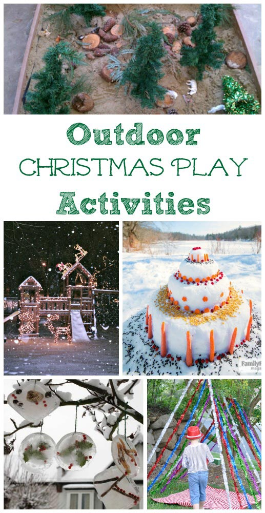 outdoor nature activities the kids will enjoy for Christmas