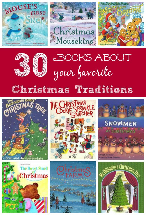 kids books about christmas traditions