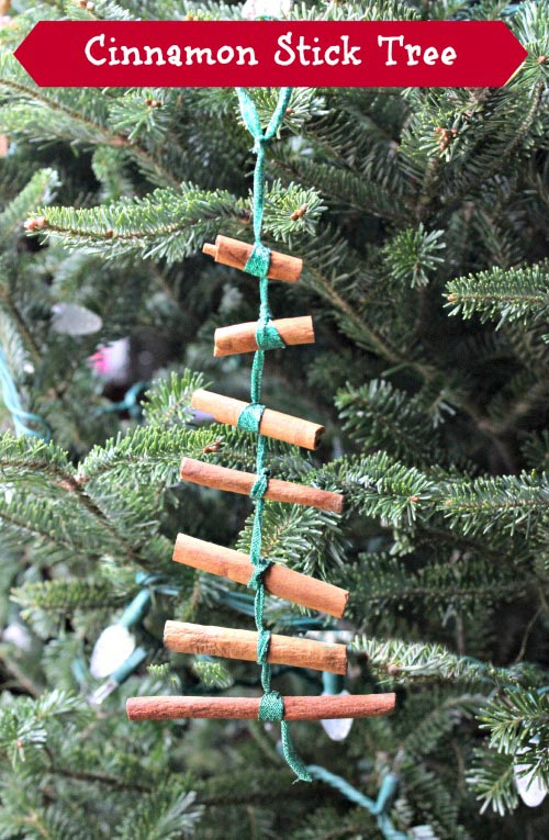 Cinnamon Stick Christmas Tree