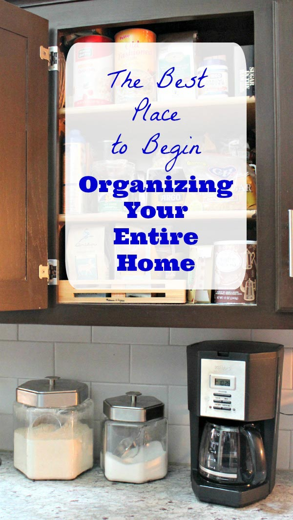 Where to Start Organizing Your Home