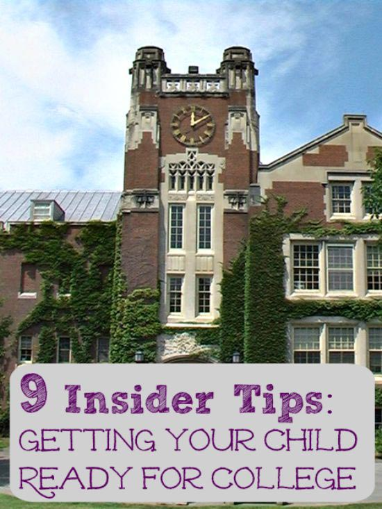 Tips for preparing your teen for college - what to do, how to pack and more!