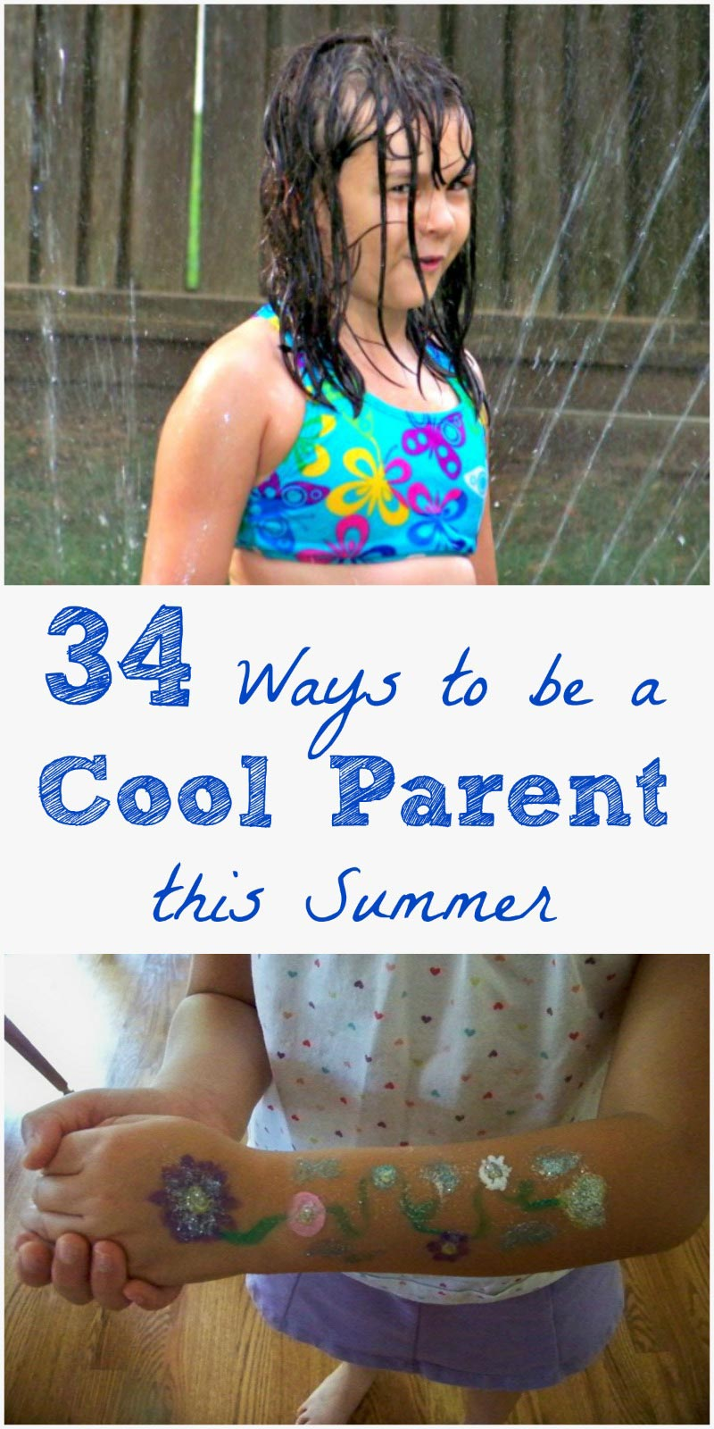 Fun things to do with the kids this summer!  Love these simple, retro ideas!