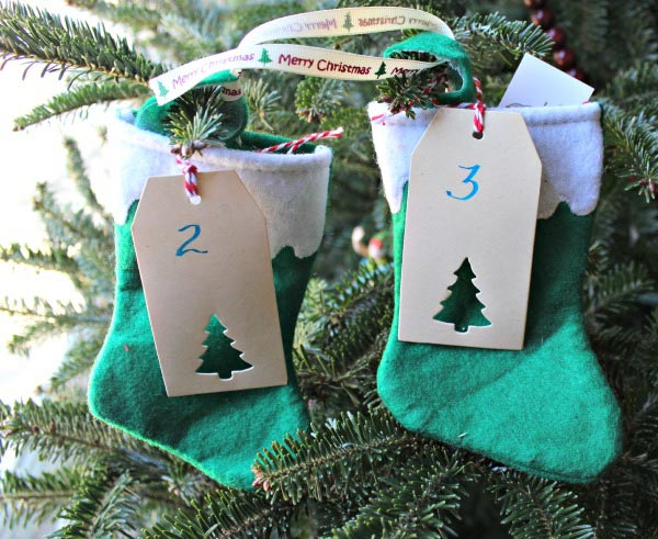 Ideas for a Christmas Countdown with kids