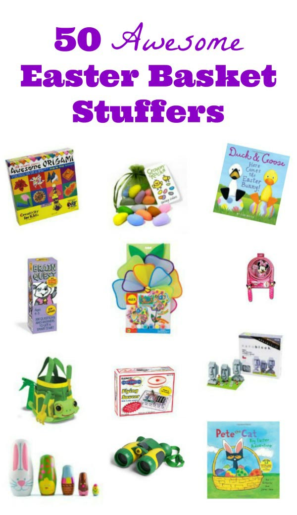 Educational items for your Easter Basket -- fun ideas for kids!