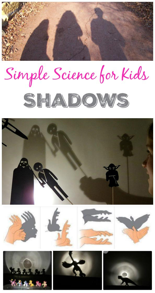 Light and shadow science experiments and activities for preschoolers, kindergarten, 1st, 2nd, 3rd, 4th grades