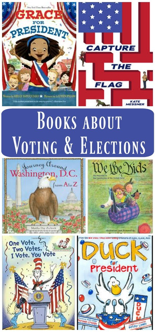 Kids Books about Voting, Elections & Washington DC