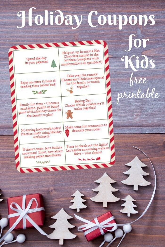 free printable coupons for christmas activities - Kids Free Holiday