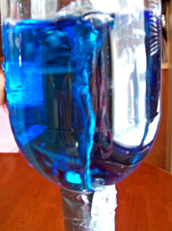 tornado in a bottle science project We've all seen the classic tornado-in-a-bottle science experiment, which uses 2 two-liter bottles to create a whirlpool effect this version requires you to get the.