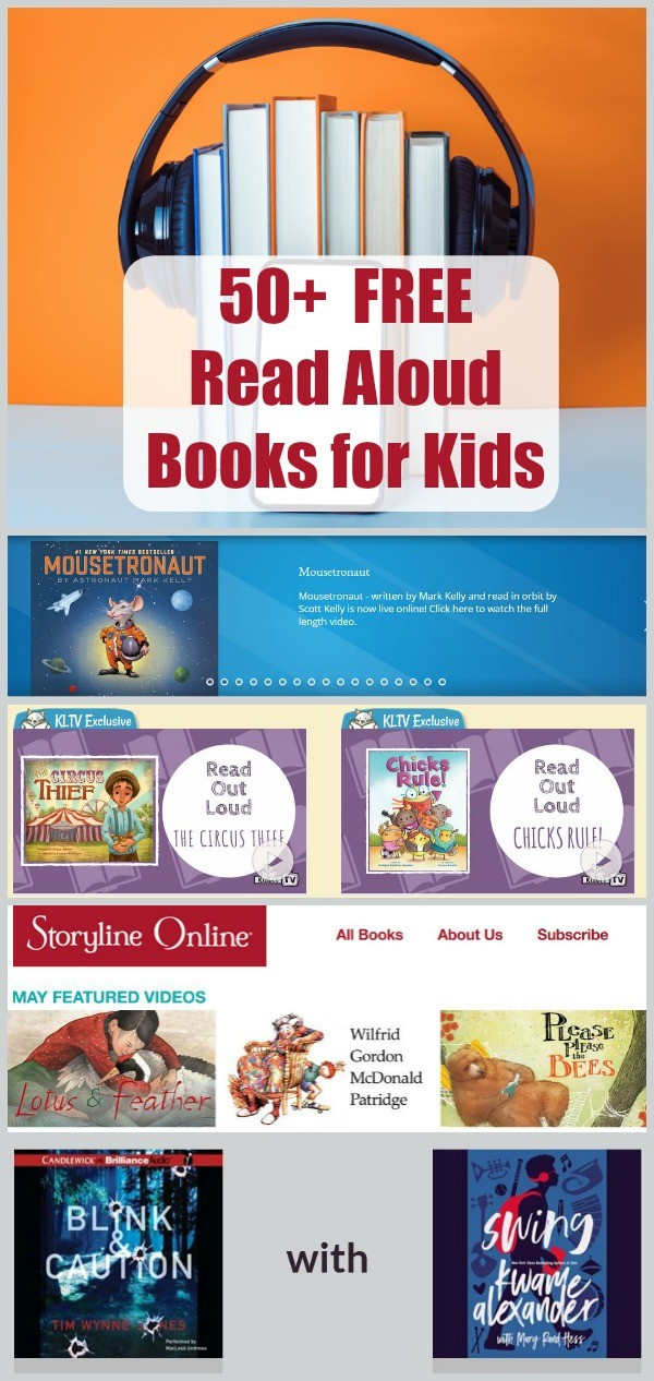 FREE read aloud books online and stories read aloud for kids