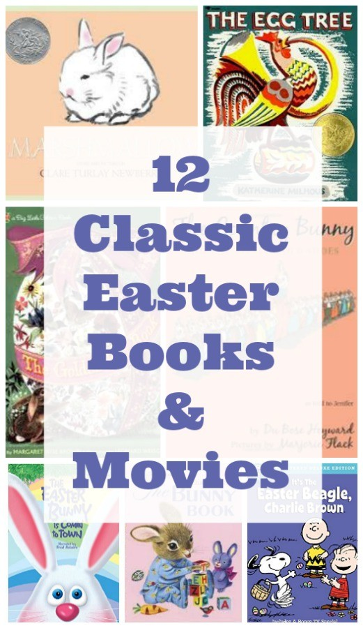 12 Classic Easter Books & Movies for Kids