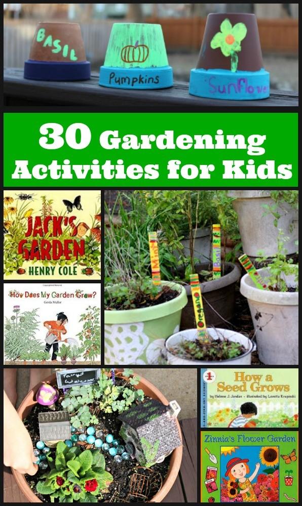 30 Garden Plant Activities For Preschool Elementary