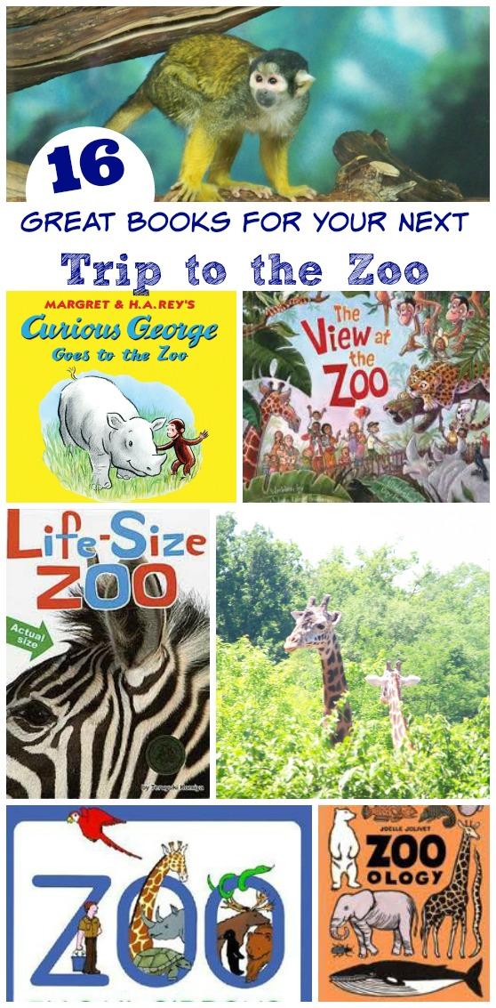 16 Zoo Animal Books for Preschoolers & Elementary Kids ...