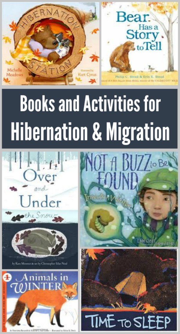 Kids books about animal migration and hibernation activities