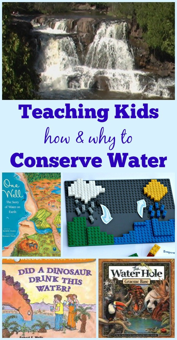 Teaching Kids about Water Conservation & the Water Cycle