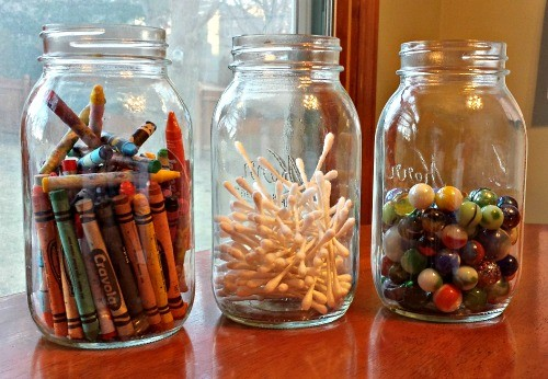 100 Things to Count to 100 & Estimation Jars Items