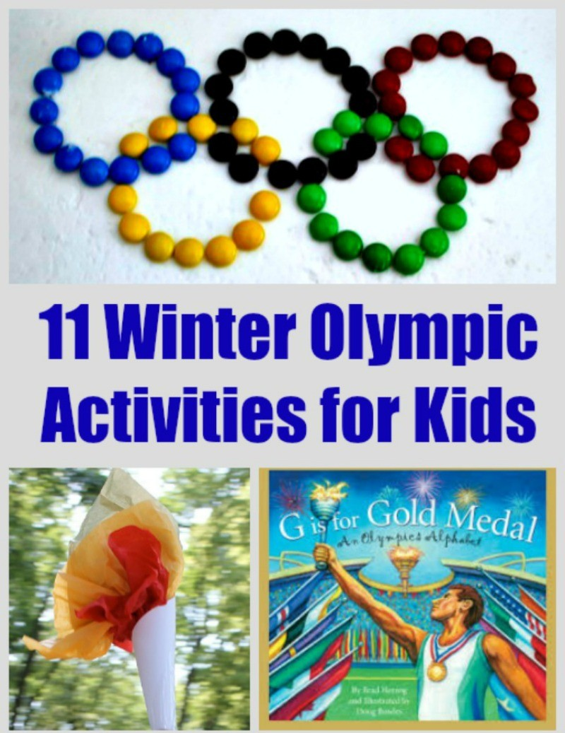 11 Olympic Activities and Crafts for Kids