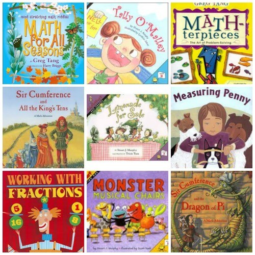25 Marvelous Math Picture Books for Kids