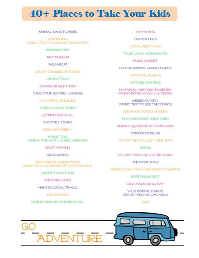 40 Fun Places To Take Kids Near Me Edventures With Kids