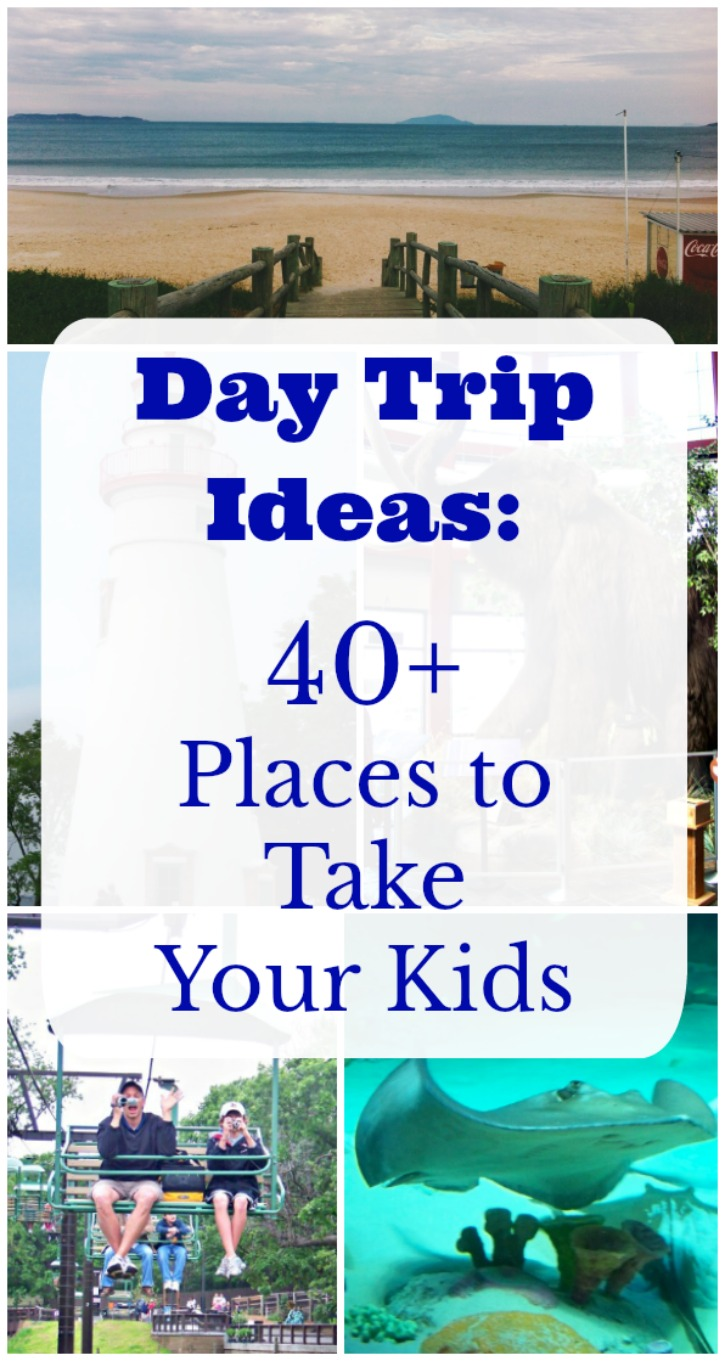 Fun places for kids near me and Day Trips Ideas (with free printable list!)