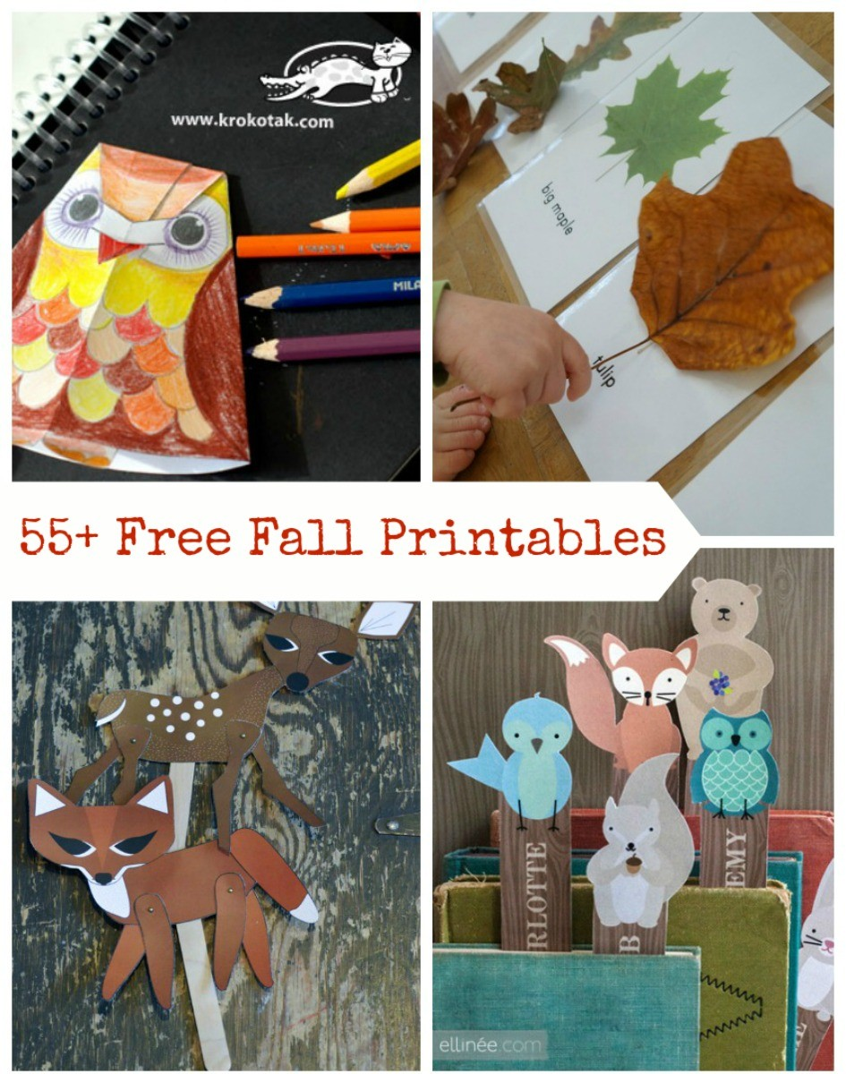 Fall printable games