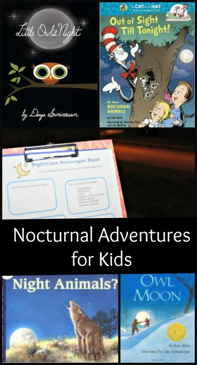 Nighttime Scavenger Hunt - Nocturnal Adventures for Kids