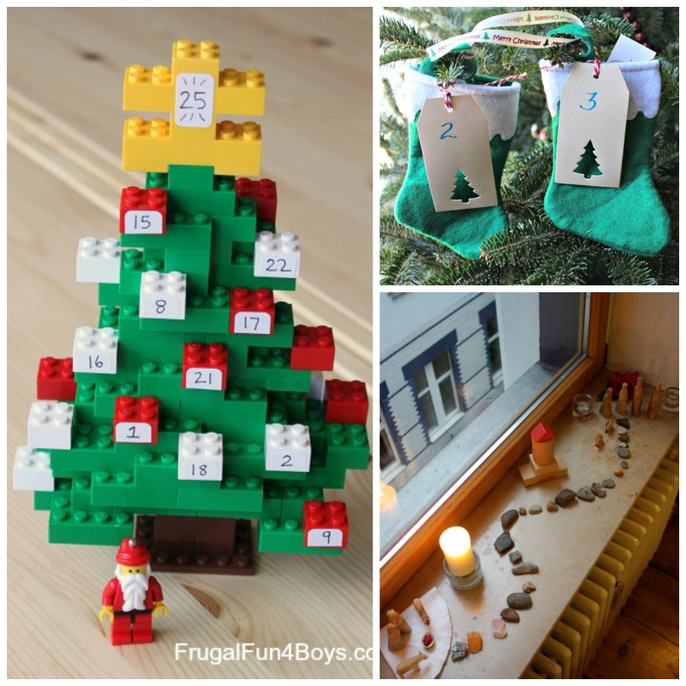 25 Christmas Countdown & Advent Calendar Ideas