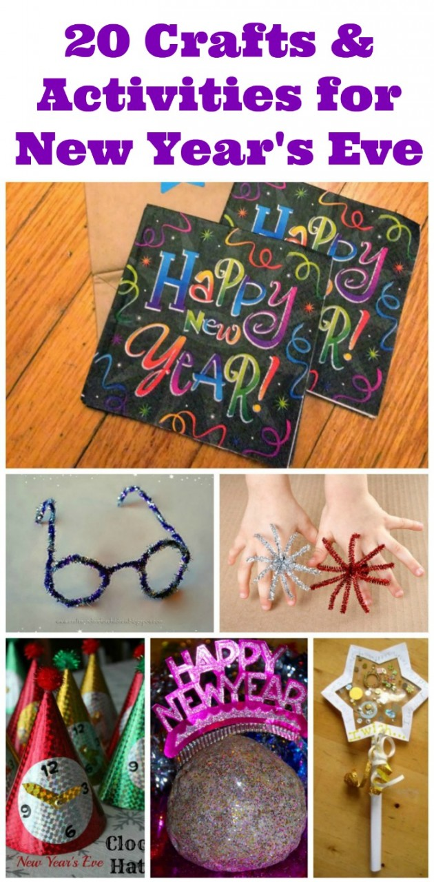 20 New Year S Activities And Crafts For Kids Edventures With Kids