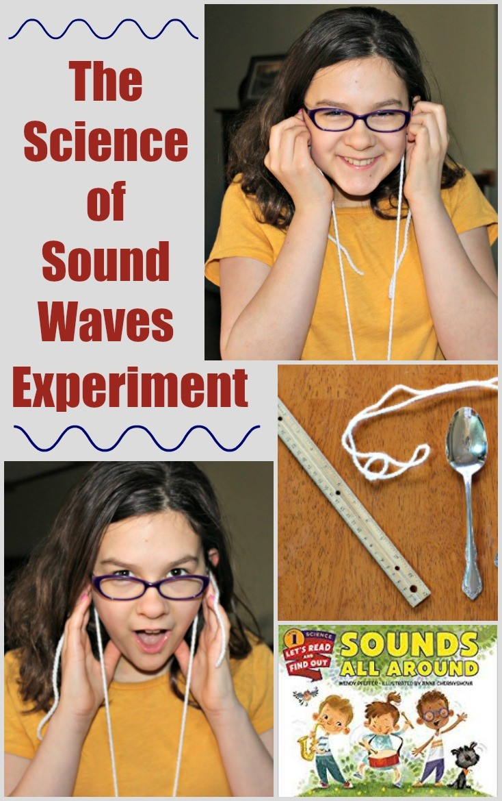 Sound experiments for kids - science of waves for elementary and middle school students