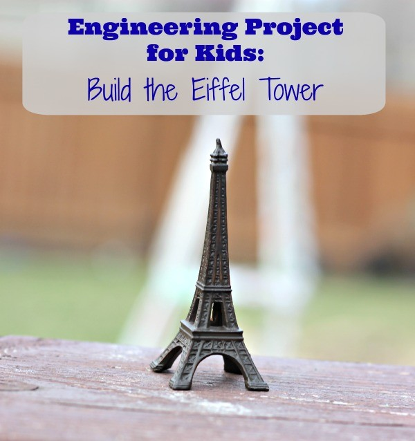 How to make an eiffel tower school engineering project for Paris themed crafts for kids