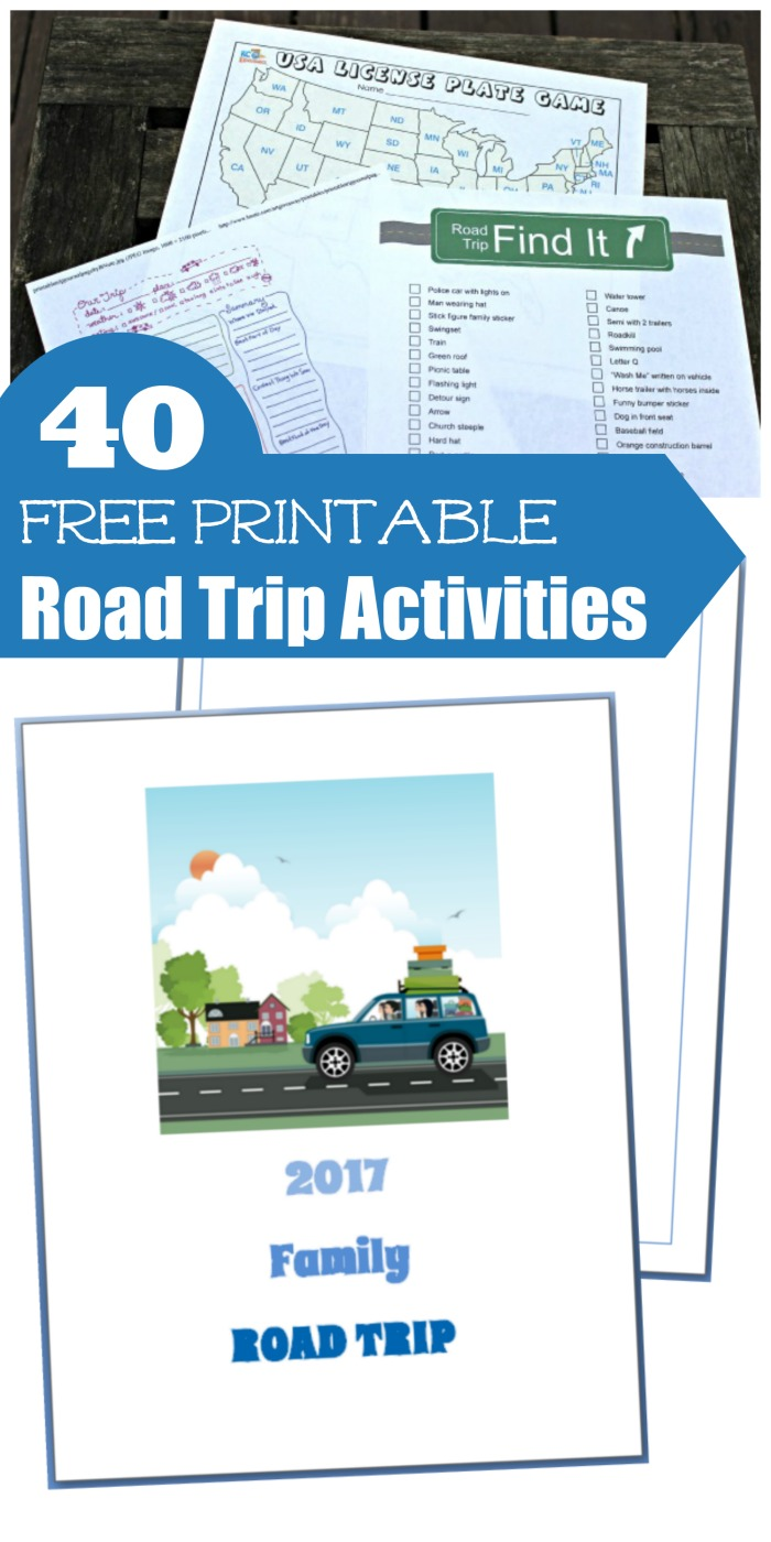 40 Free Printable Road Trip Games & Activities for Kids - Edventures ...