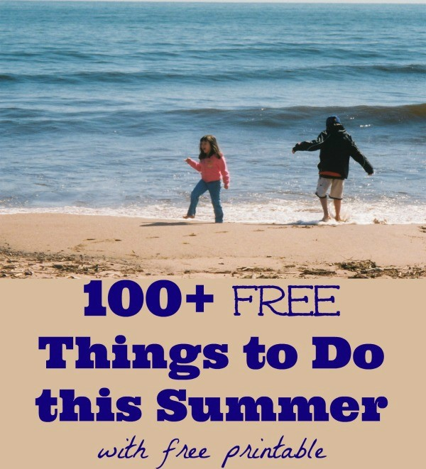 100 Free Activities to do with Your Kids this Summer