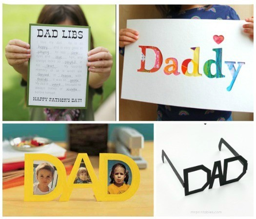 15 Free Father's Day Cards & Activities {printables}