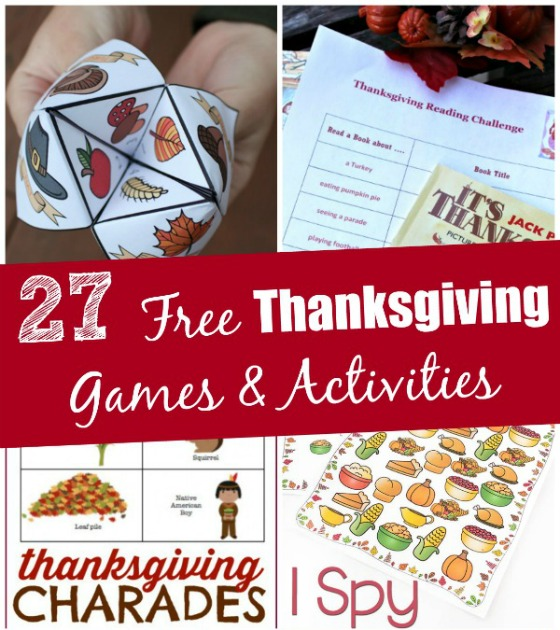 graphic regarding Free Printable Reading Games identified as 27 Totally free Thanksgiving Video games Routines (printable