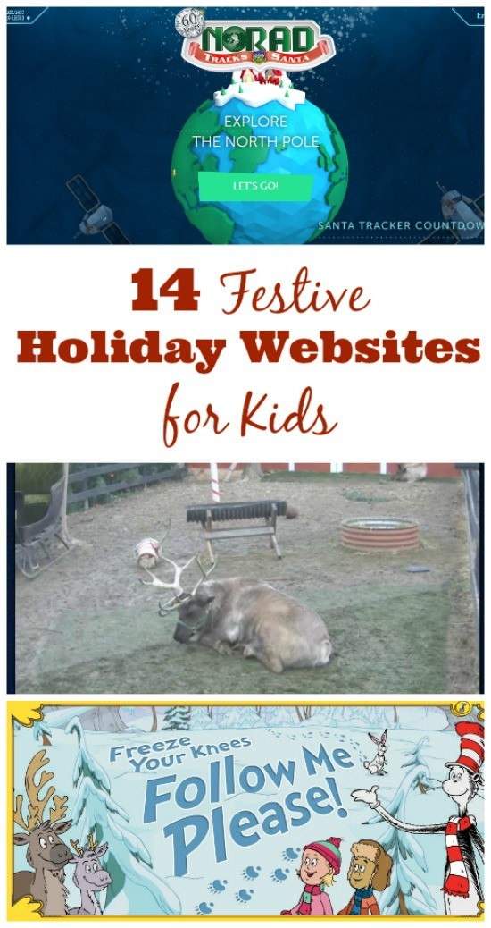 Christmas websites and online christmas activities