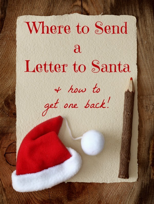 How to Send A Letter to Santa (& how to get a letter back!)